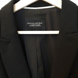 Banana Republic black blazer size 14